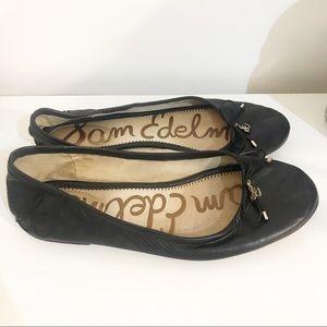 Sam Edelman   Black Felicia Ballet Flats Size 8.5